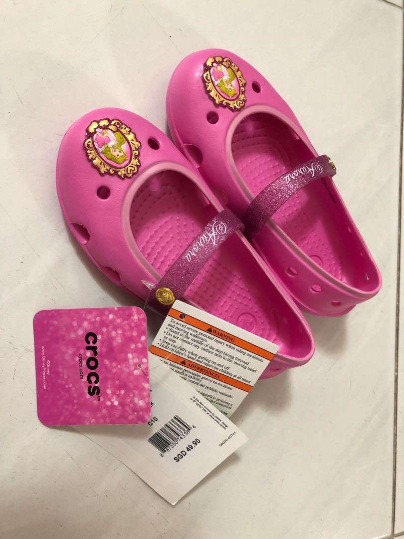3c2e1da43f7ce6 Crocs Shoes - Keeley Disney princess flat