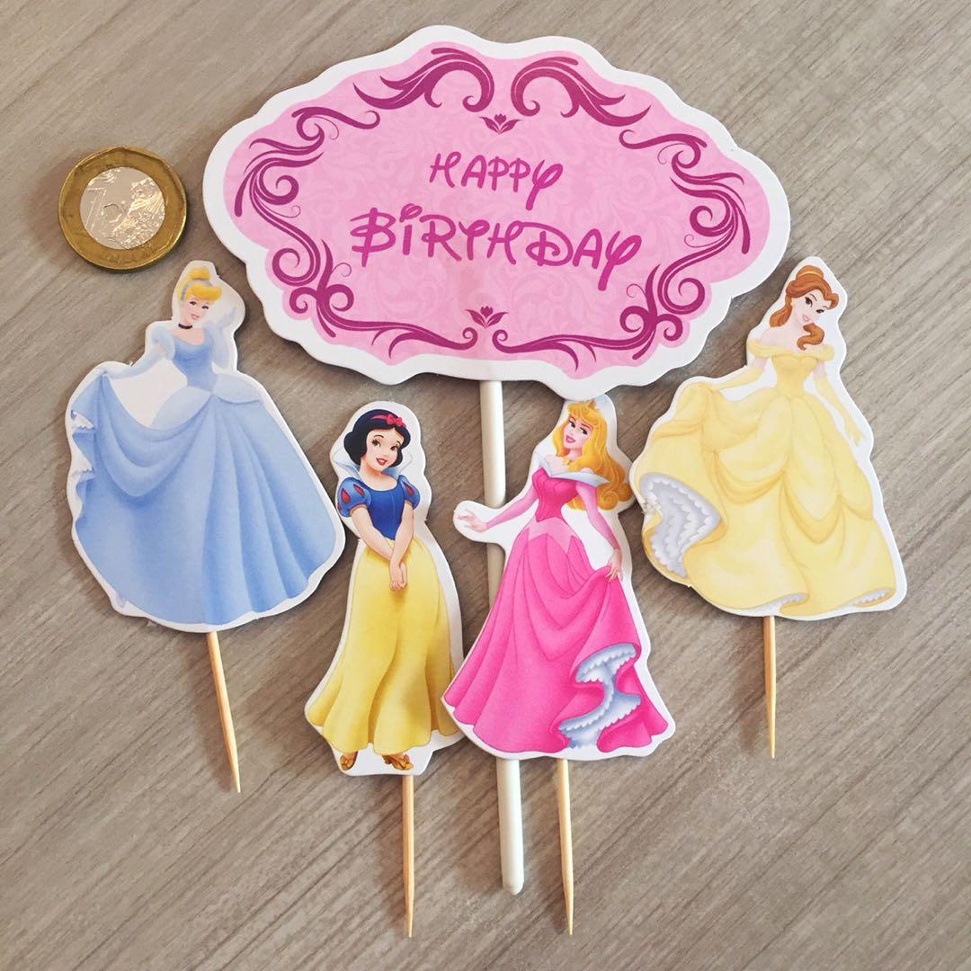 Disney Princesses Cake Topper