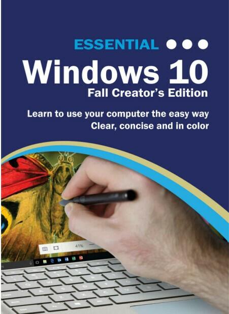 ebook for Kindle Essential Windows 10: Fall Creator's Edition