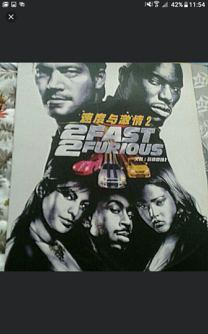 English Dvd 2 Fast Furious Pick Up Hougang Buangkok Or Add 1