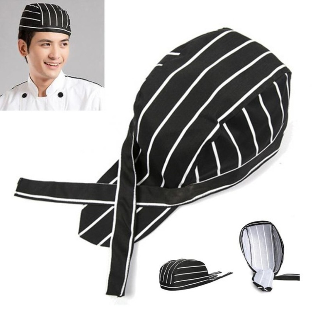Fashion Chef Hat Cooking Hat Kitchen Hat Pirate Style Chef Hat Fashionable And Cool
