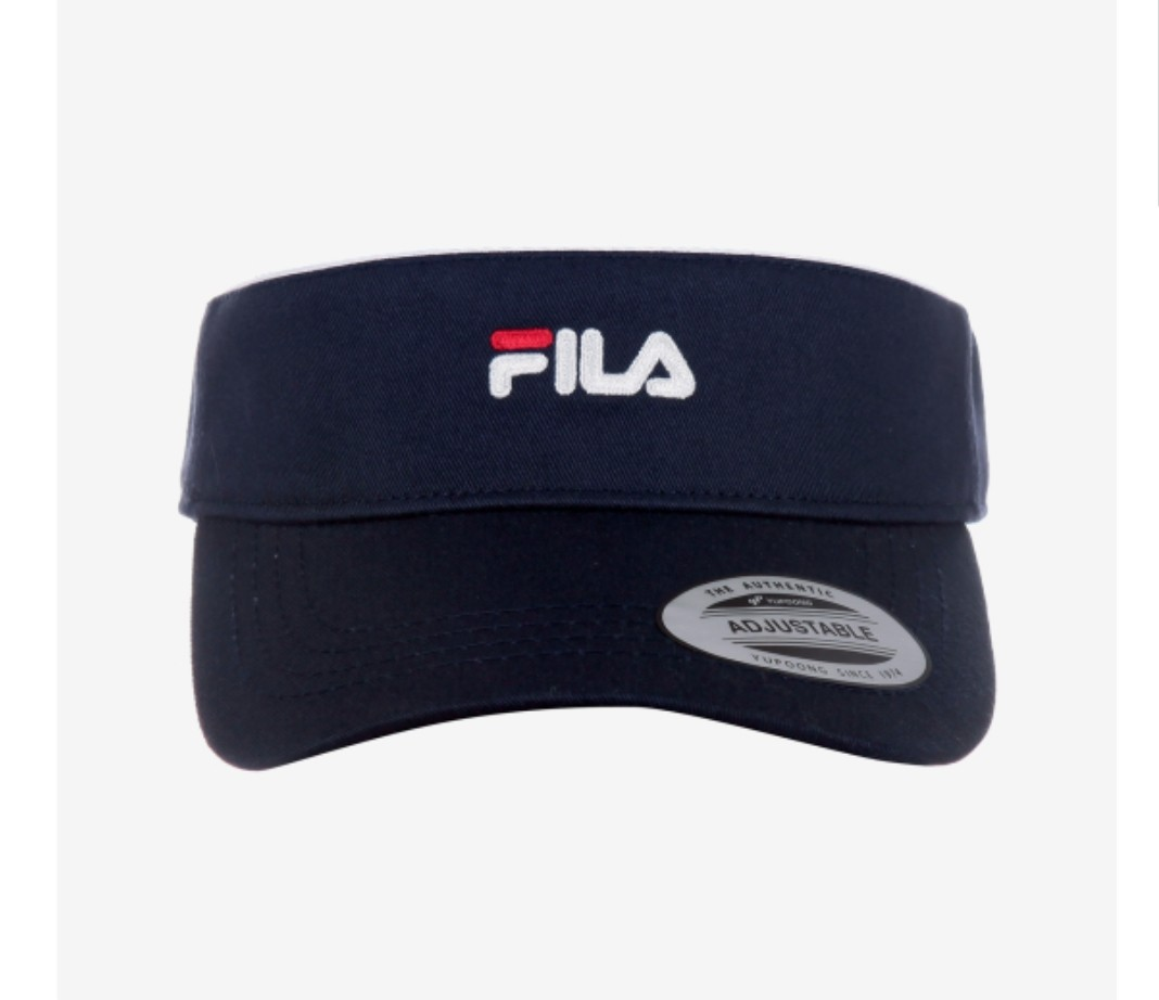 32f150cc Fila Linear Logo Sun Cap Navy FS3CPA5203X_INA, Entertainment, K-Wave ...