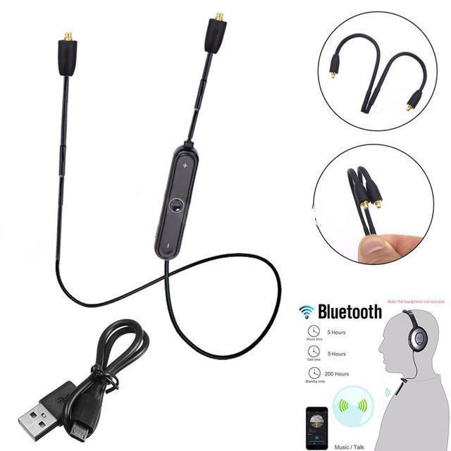 110a7272439 photo photo photo photo. (For Shure) MMCX Wireless 4.1 Bluetooth Headphones