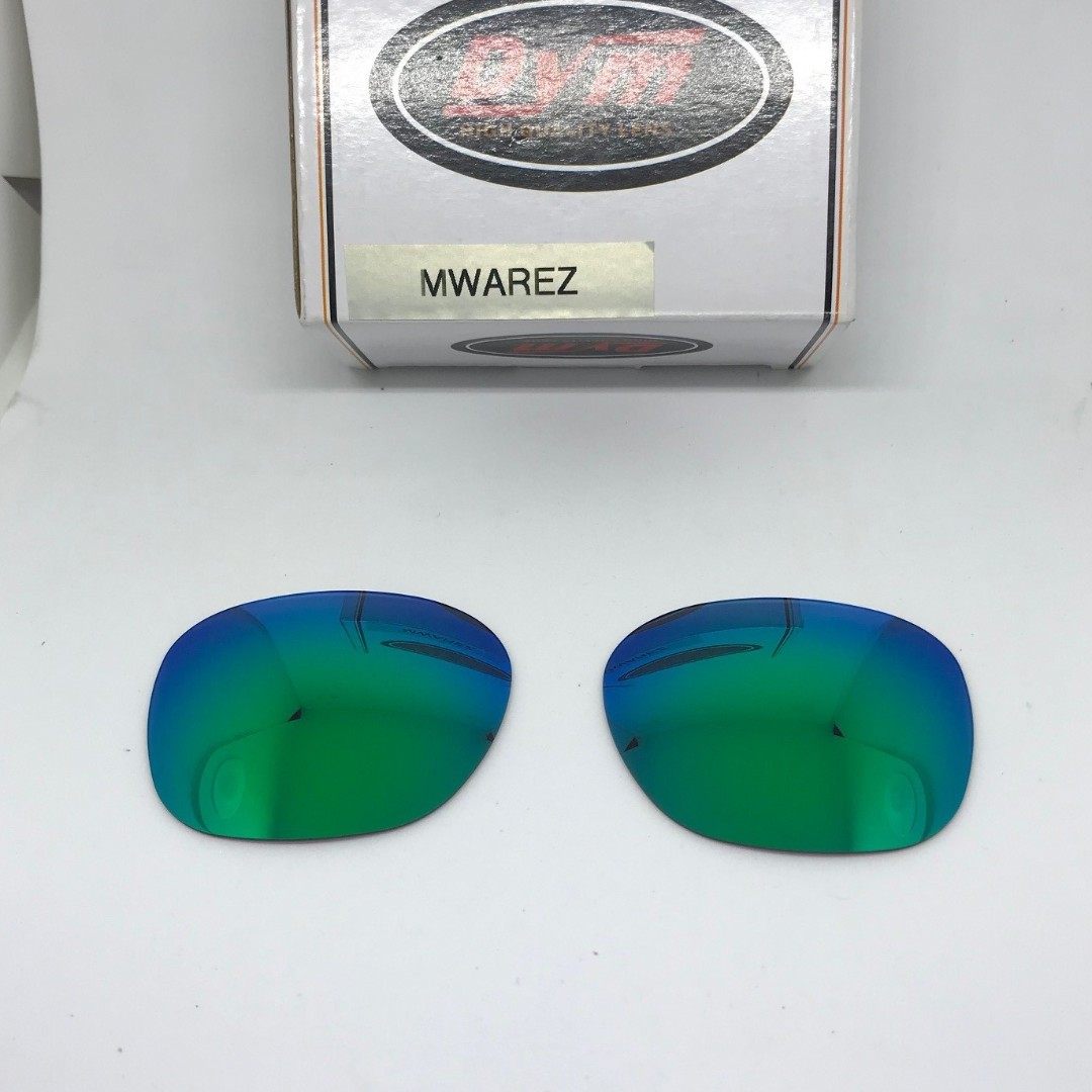57d1cc2aa7 Garage Rock Emerald Green POLARIZED Dym Replacement Lenses for ...