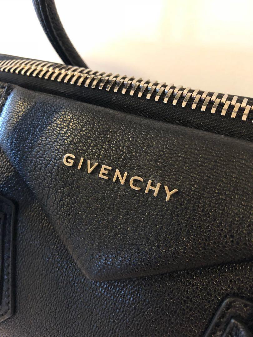 35134dc3efe Givenchy Antigona Medium Black Matte (9/10), Women's Fashion, Bags &  Wallets on Carousell