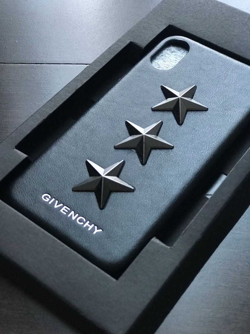 premium selection dd1bc e384e Givenchy Stars iPhone X Case, Mobile Phones & Tablets, Mobile ...