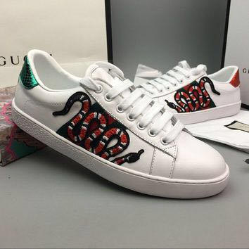 Gucci Sneakers embroidery (SNAKE) 246d8093e