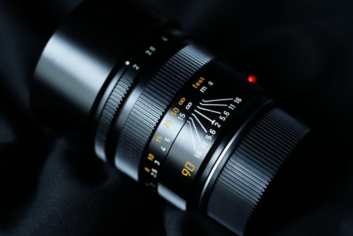 Leica 90mm f/2 Summicron E55