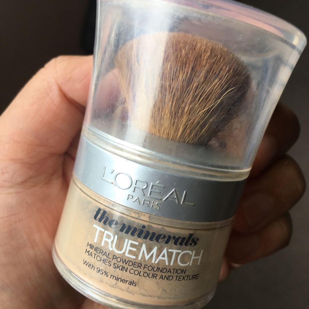L'Oréal paris mineral powder foundation