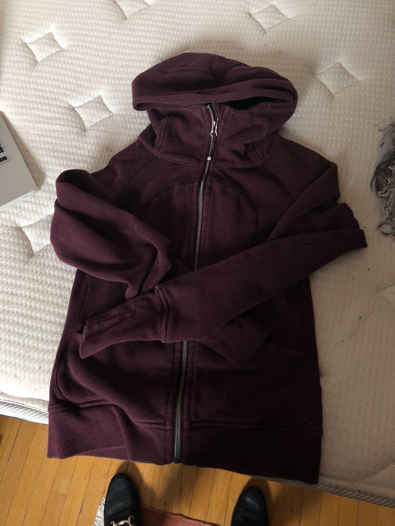 Lululemon Sweater Burgundy