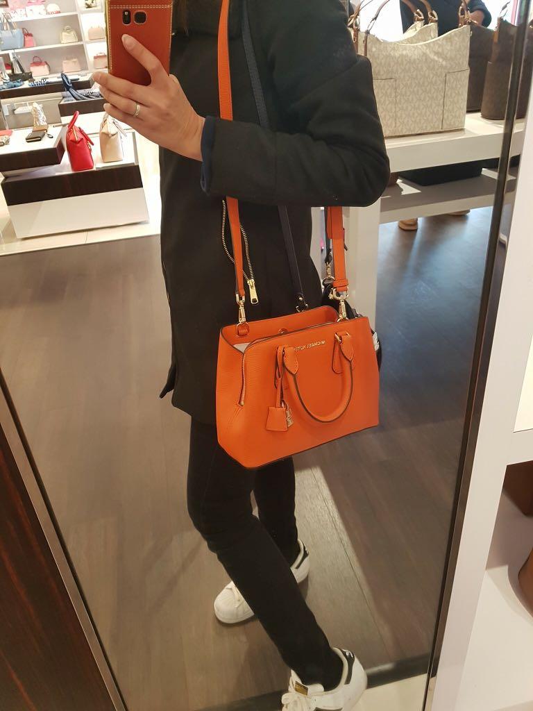 cbdbd14c7bb4 ... leather bag a076e e3881 czech michael kors camille small large satchel  womens fashion bags wallets on carousell 06997 e0b1f ...