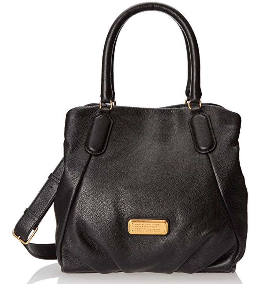 NEW! Authentic MARC BY MARC JACOBS New Q Fran bag in black
