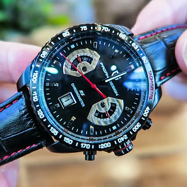 pagani design 'grand carrera' chronograph, men's fashion, watches on