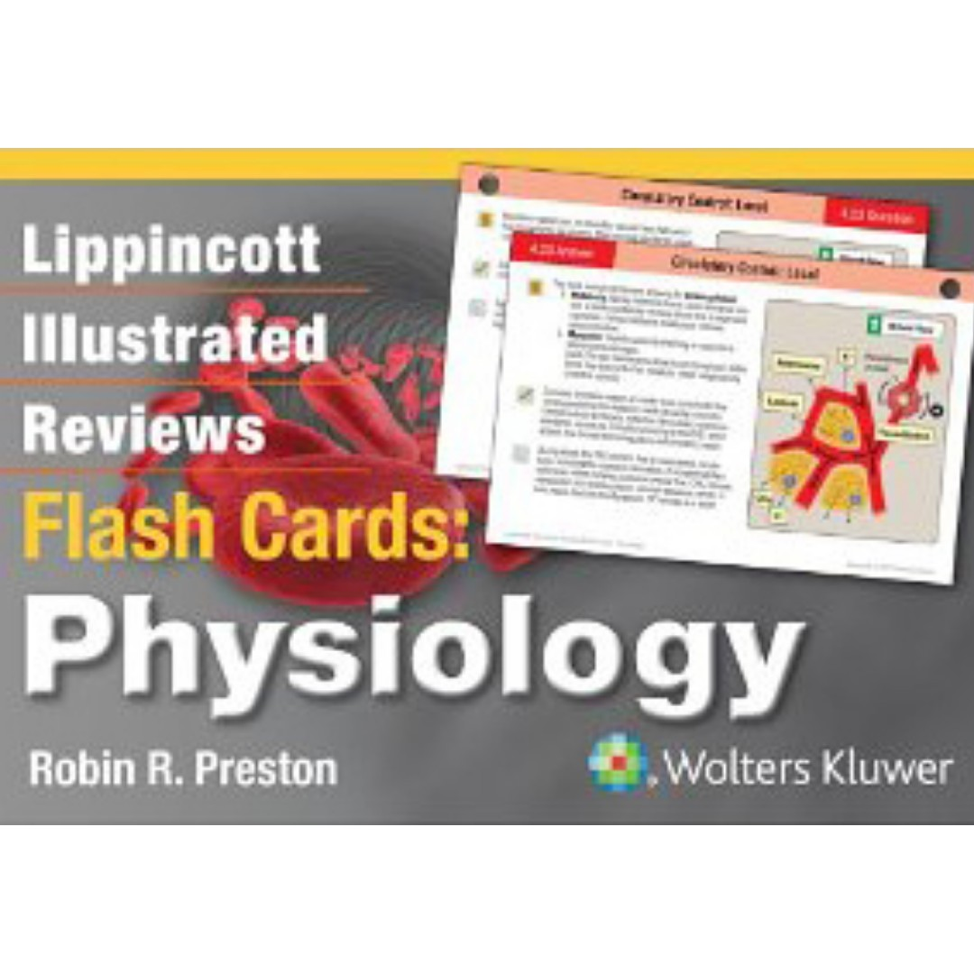 Physiology-Lippincott Illustrated Reviews Flash Cards, Books ...