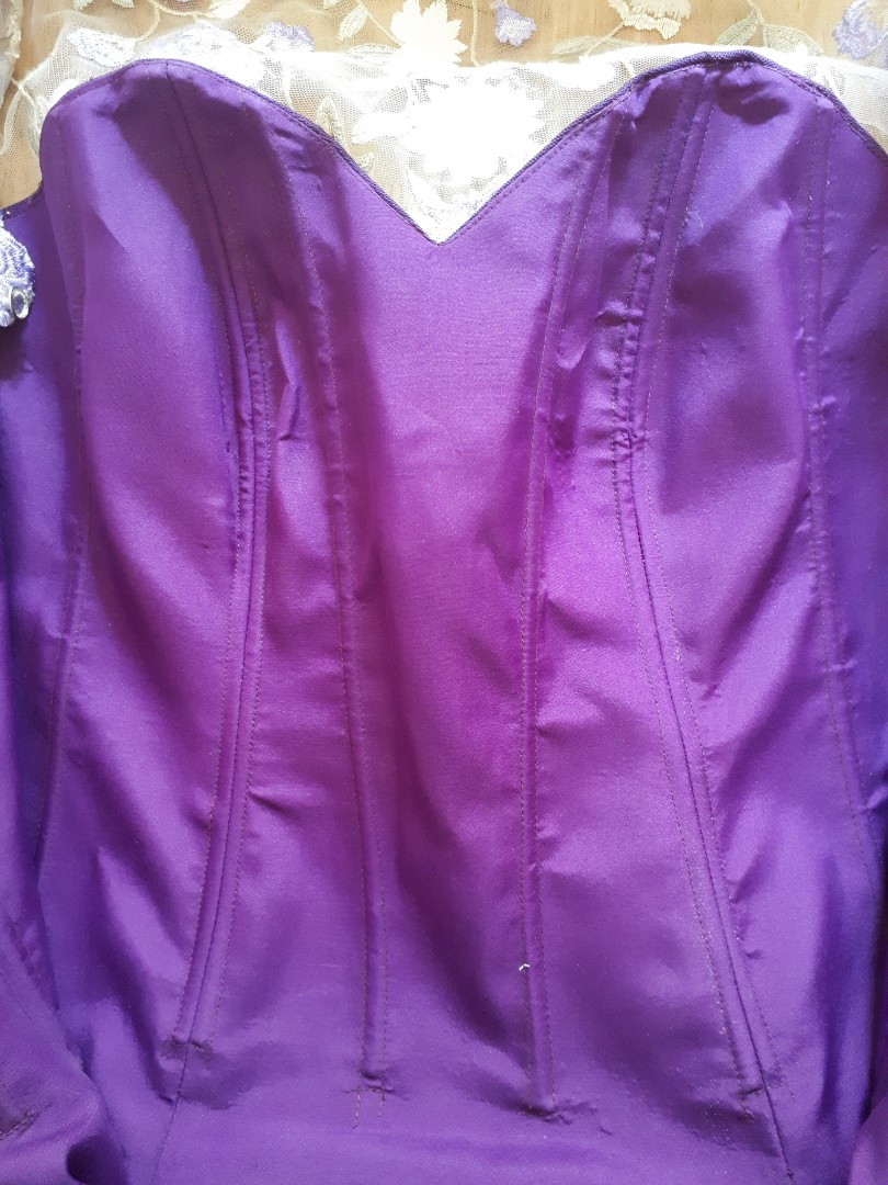 Plus Size Bridesmaid Dress, Preloved Women\'s Fashion, Clothes on ...