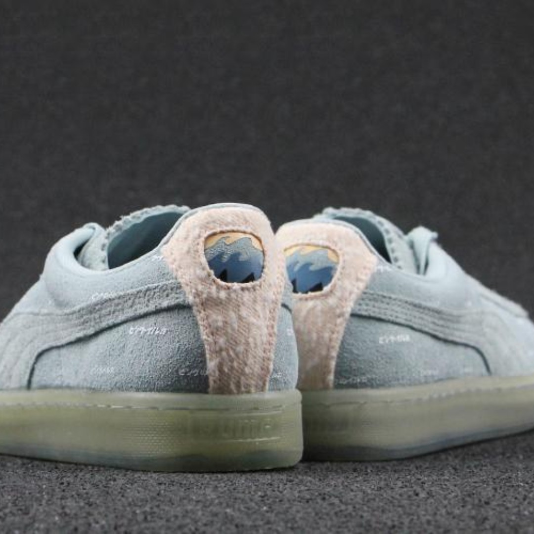 best loved 5d6c5 37adc Puma x Pink Dolphin Suede V2 'Ether/Caramel Cream', Women's ...
