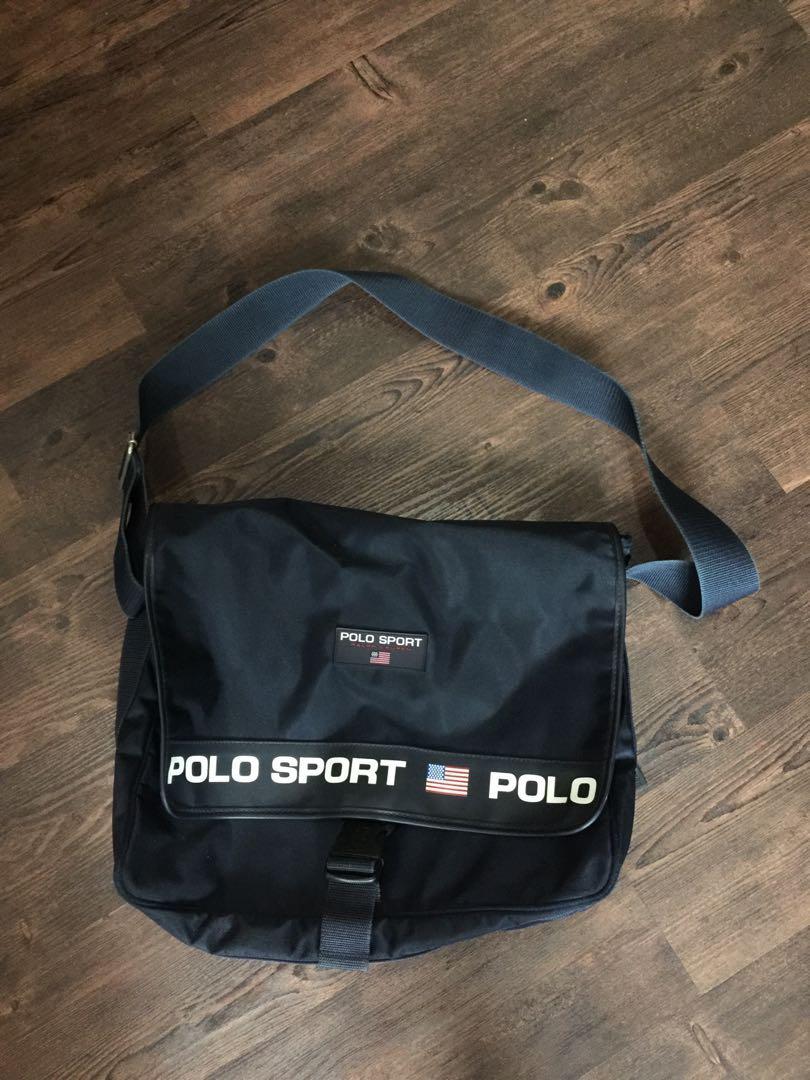 45586d4c325 Ralph Lauren Vintage Polo Sport Bag, Men s Fashion, Bags   Wallets on  Carousell