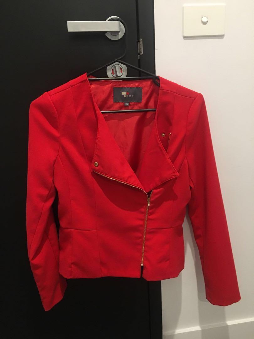 Red Blazer - XS
