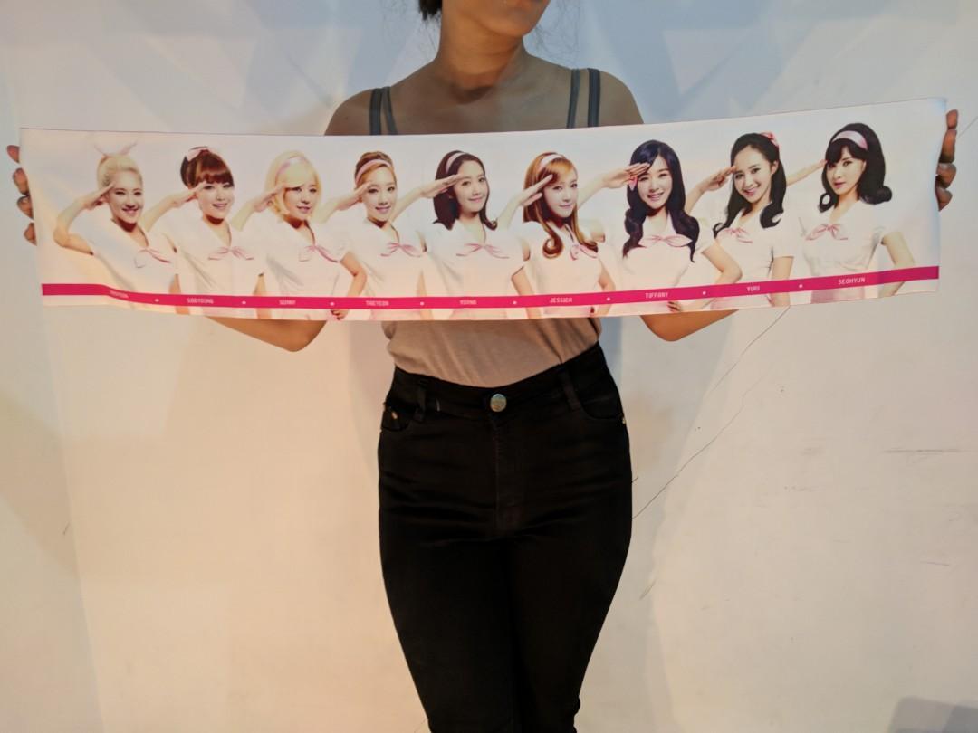 Slogan Towel SNSD Girls Generation GG Tour 2013