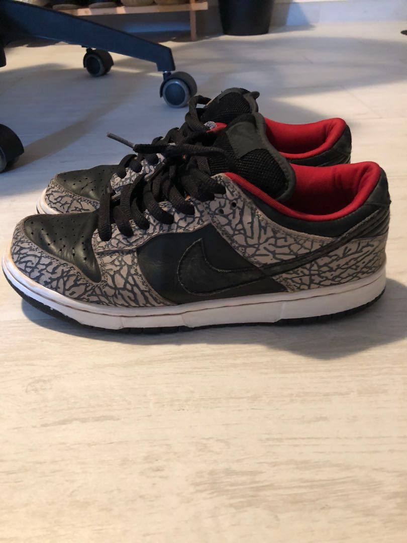 purchase cheap 32554 d1e31 Supreme Nike Dunk low pro Jordan, Men s Fashion, Men s Footwear on ...