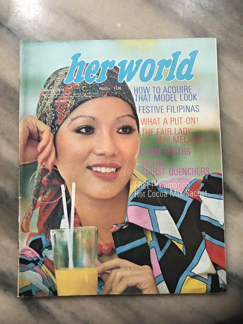 Vintage Her World Magazine