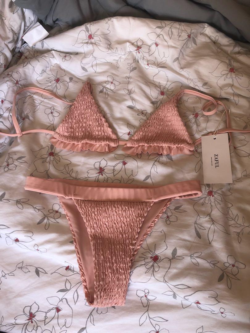 Zaful Dusty Rose Bikini