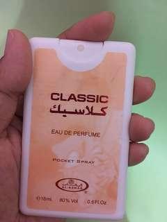EDP pocket spray