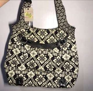 Fossil Floral Tote Bag