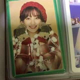 twice merry & happy 小卡