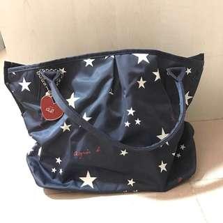 Agnes B Starry Tote Bag - Brand New!
