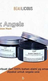 Clay dark angel mask