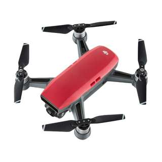 Drone DJI Spark Combo Red bisa cicil gan..