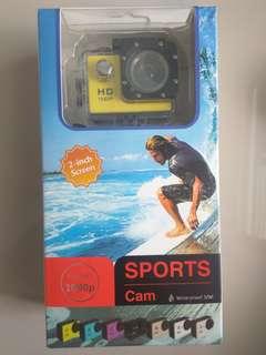 Outdoor Sport Mini Camera 1080P Full HD DV Sport Action Camera Bike Helmet Video Cam 30M go waterproof Pro Case Retail Box
