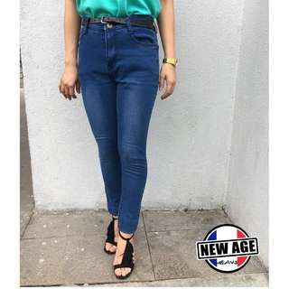 Stretchable 332 LT. BLUE PANTS (Size 30-36)