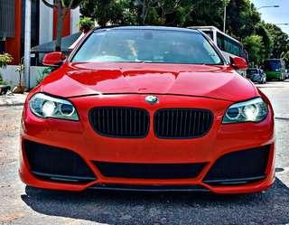 BMW F10 532i Red