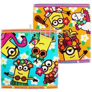 【代購】日本環球影城Minions手巾一套兩條