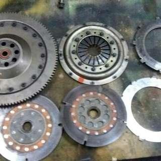 clutch os twin plate b16a, b16b, b18c, b20b