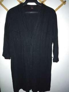 Black Mini dress (¾ sleeves)