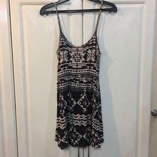 Mint Aztec Dress