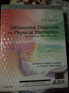 Differential Diagnosis for PT