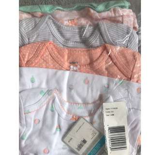 BN 24mth Carters Girl Rompers