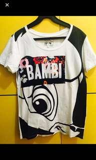 B+ab chocoolate bambi tee斑比 鹿