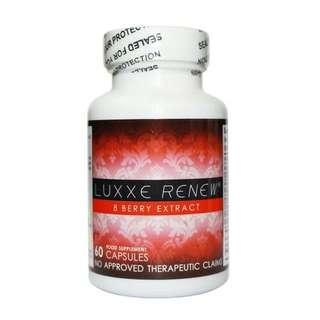 Luxxe Renew - 8 Berry Extract 60 Capsules (600mg)