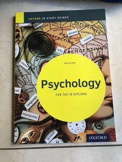 NEW Psychology IB DP - Oxford Study Guide