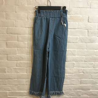 Culottes Denim Pants