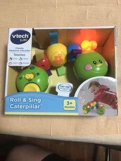 VTech Baby Roll and Sing Caterpillar