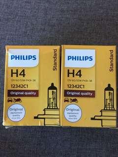 Philips H4 and H3 light bulk