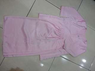Light Pink Baju kurung