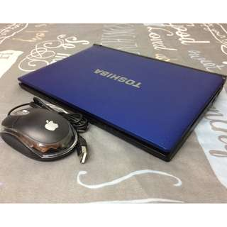 "NETBOOK TOSHIBA COLOR BLUE QUAD CORE WINDOWS 8 500.HDD 10.1""INCHES SYSTEM MODEL:TOSHIBA NB505 READY TO USE:"