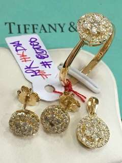 Tiffany & Co Diamond Sets